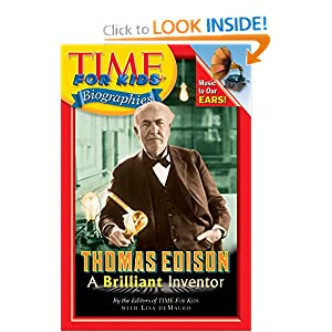 Time For Kids: Thomas Edison: A Brilliant Inventor (Time for Kids Biographies)
