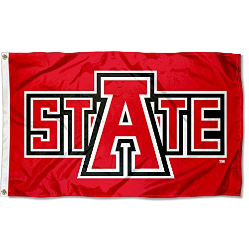 College Flags and Banners Co. Arkansas State University A STATE Flag Large 3x5