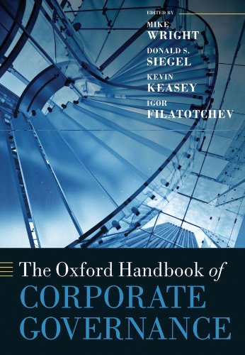 The Oxford Handbook of Corporate Governance (Oxford Handbooks) (The Oxford Handbook Of Corporate Law And Governance)