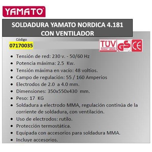 Telwin 7170035 Soldadura 2500 W, 220 V: Amazon.es: Bricolaje y herramientas