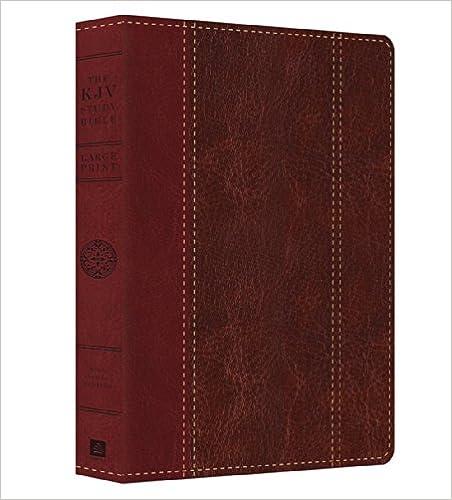 Large Print Study Bible-KJV