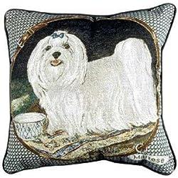 Maltese Tapestry Pillow