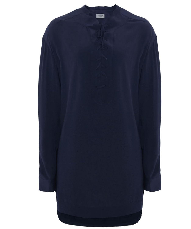 Hunkydory Genoa Silk Tunic Indigo