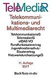 Telemediarecht Telekommunikations- und Multimediarecht: Telekummunikationsgesetz. Rahmenrichtlinie. Telekommunikations-Überwachungsverordnung. ... Netzwerkdurchsuchungsgesetz (dtv Beck Texte)