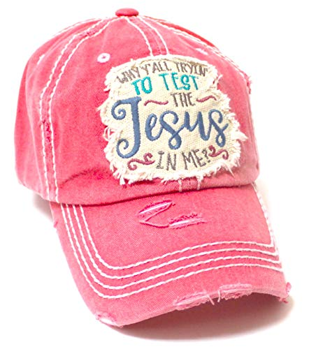 Women's Ballcap Why Y'all...