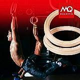 Magnifiq Birch Wood Gymnastics Rings -Durable