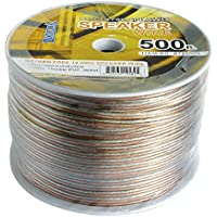 500 FT Luxtronic 14 AWG Oxygen Free Polarized Speaker Cable Stranded Flexible