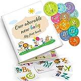 Baby Memory Book: Capture Baby's First 5 Years of Milestones...