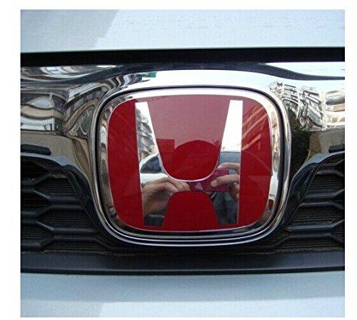 Front / Rear Emblem Badges For Red H Honda Odyssey (Model: 75700-SNW-003)