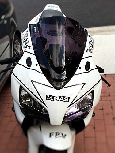 (Mirror Block Off Base Plates Compatible with Honda CBR600 CBR650 650F 1999-2017)
