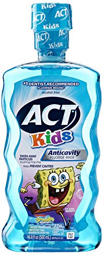 ACT Kids Anti Cavity Mouthwash Sponge