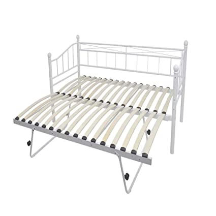 Awe Inspiring Oakome Metal Day Bed Frame Multi Functional 2 In 1 Bed Onthecornerstone Fun Painted Chair Ideas Images Onthecornerstoneorg