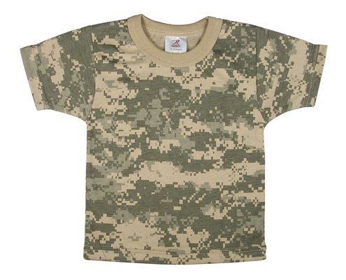 Rothco Infant T-Shirt, Acu Digital Camo, 12-18 months Acu Digital Camouflage T-shirt