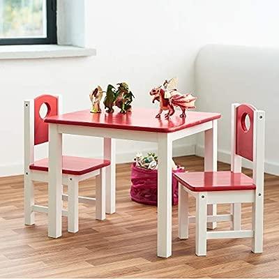 Diluma Kindersitzgruppe Rosa 3 Teiliges Kindermöbel Set 1