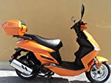 TaoTao PALADIN 150cc Sporty Scooter Big Rugged Wheels (Orange)