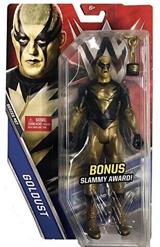 Goldust Mattel WWE Basic Series 67 Chase with Slammy Award
