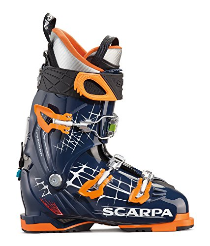 (SCARPA Freedom Ski Boot - Midnight/Orange 29)