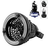 2 Functions Portable Camping Light 9+9 LEDs 180 Degree Direction Adjustable Travel Accessories Outdoor Lighting Equipment Suitable for Camping, Hiking, Fishing, Traveling, Garage etc. LPA-S1