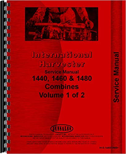 International Harvester 1460 Combine Service Manual (All SN#) (Chassis) ()