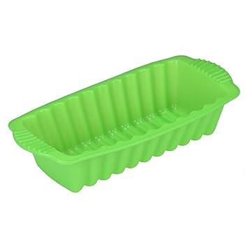 igemy silicona Rectangular antiadherente pan de molde para tarta molde para hornear pan molde de horno Random: Amazon.es: Hogar