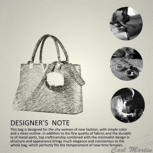 NICOLE & DORIS For Women's Casual Shoulder Cross Body Bags Spring 2017 Spring New Trends Minimal Fashion Handbags (Purple) by NICOLE & DORIS (Image #7)