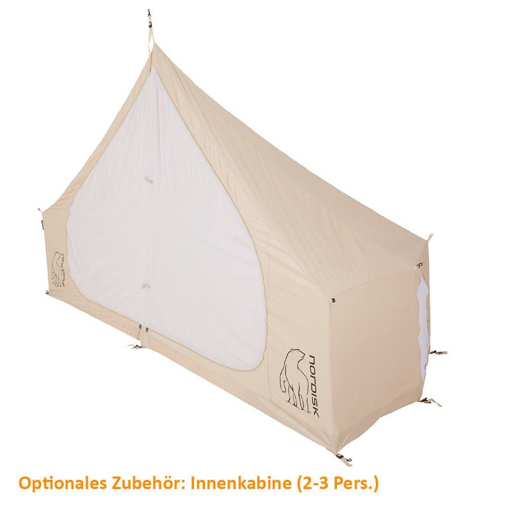 Nordisk Asgard 12.6 m² Inner Cabin Technical Cotton Natural 2018 Zelt Zubehör