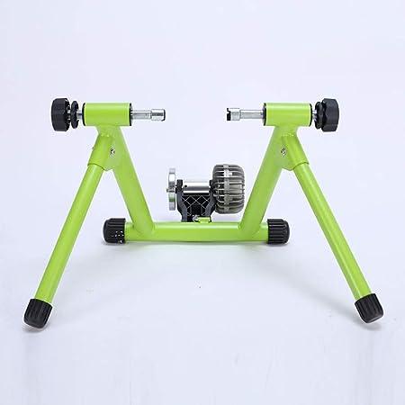 Rodillo Entrenamiento Bicicleta Bicicletas resistencia a los líquidos Plataforma de ciclismo de pista de bicicletas plataforma de formación de bicicletas de montaña reluctancia magnética Resistencia a: Amazon.es: Hogar