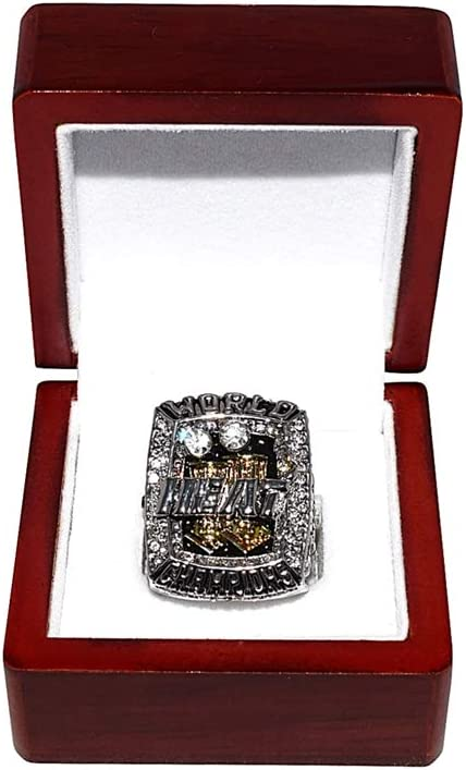 Miami Heat Lebron James 2013 Nba Finals World Champions Back To Back Champs Collectible High Quality Replica Nba Basketball Silver Championship Ring With Cherrywood Display Box At Amazon S Sports Collectibles Store