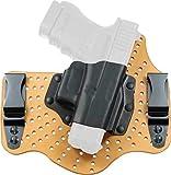 Galco KingTuk Air IWB Holster for Glock 17,19,22,23,26,27,31,32,33, RH, Tan - KA224