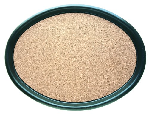 """Carlisle 241901 ABS Oval Cork Tray, 24.00 x 19.00"""", Brown (Case of 6)"""