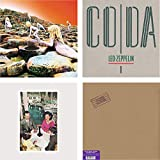 House Of The Holy - Coda - Presence - In Through The Out Door - Led Zeppelin 4 LP Vinyl Album Bundling - HQ Remastered Vinyl 180g