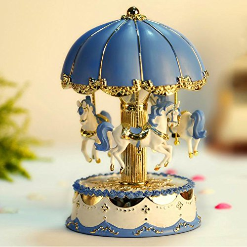 Light Blue Music Box - 6