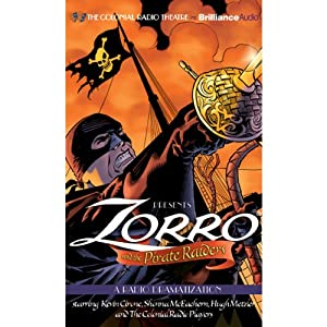 Zorro and the Pirate Raiders Audiobook