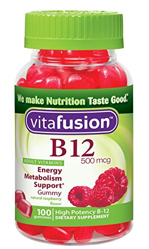 Vitafusion B12 Gummy Vitamins, Pack of 3 by Vitafusion