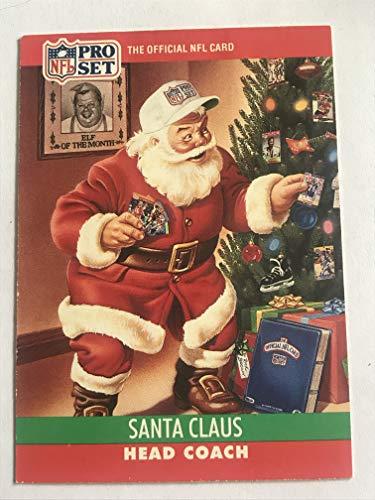 (1990 Pro Set Football #1990 Santa Claus SP NM/M (Near Mint/Mint))