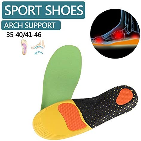 LONG-X 2 Stücke Orthesen Einlegesohle Für Flache Füße Arch Unterstützung Orthopädische Schuhe Sohle Einlegesohlen Für Füße Männer Frauen Kinder O/X Bein Korrigiert,Men