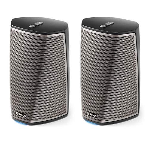 Denon HEOS 1 Wireless Streaming Speaker Pair - Series 2 (Black)