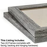 Craig Frames 26030 8 by 10-Inch Picture Frame 2-Piece Set, Smooth Finish, 1.25-Inch Wide, Gray Barnwood