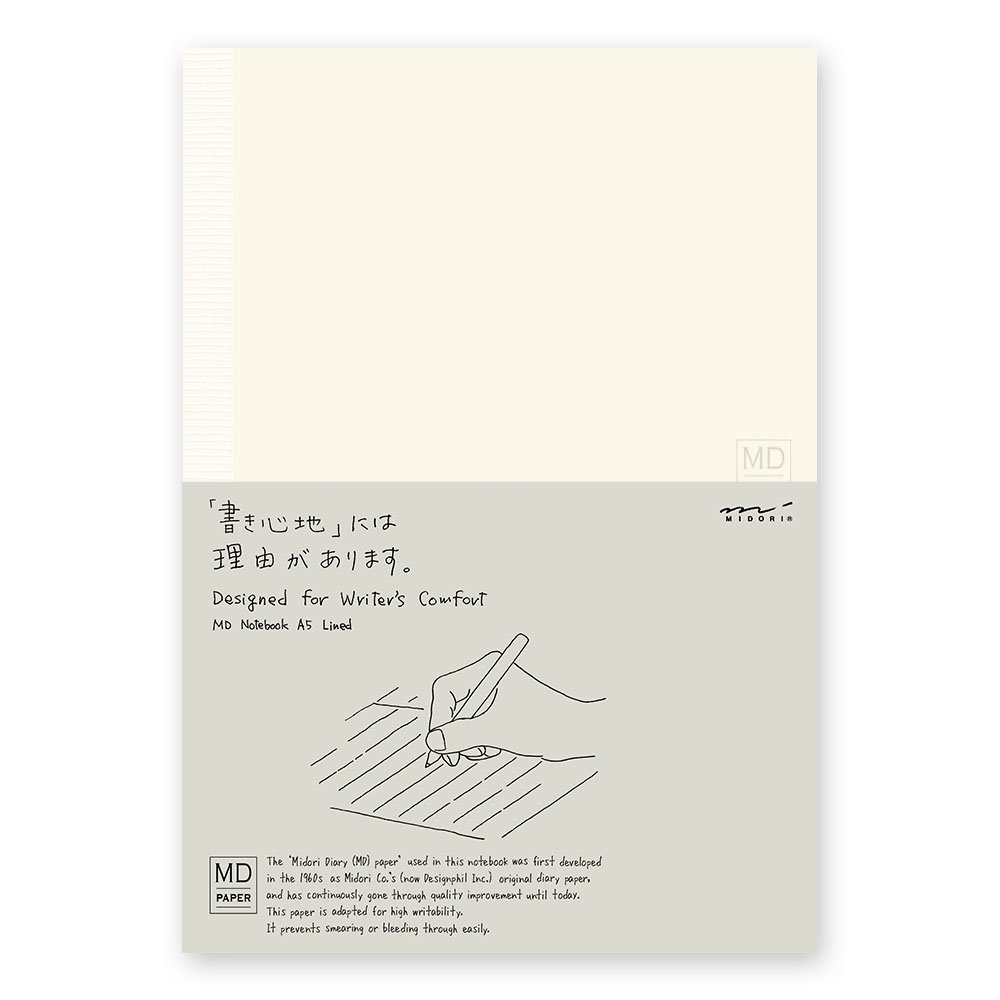 Midori 15191006 - Quaderno di carta, formato A5