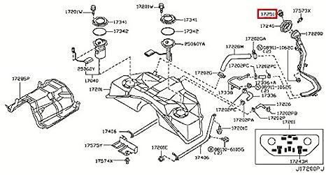 amazon com infiniti 17251 ar201 fuel tank cap automotive rh amazon com
