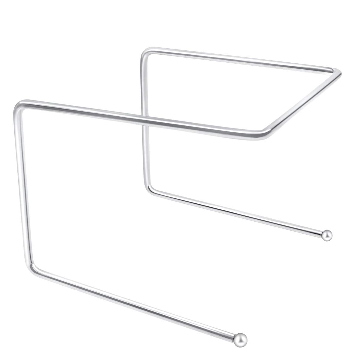 "TOP KITCHEN Pizza Tray Stand,Steel wire 9"" X 8.5"" X 7"""