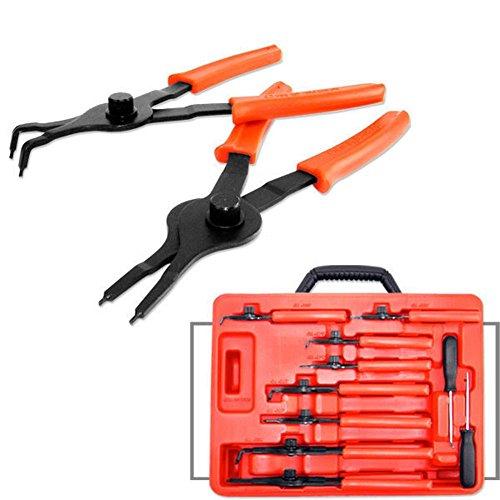 Internal Ratchet (Domeiki 10 pc Snap ring Retaining Piler Internal & External Circlips Pliers Tool)