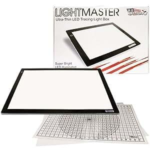 Us art supply lightmaster jumbo 32 5 diagonal - Lightbox amazon ...