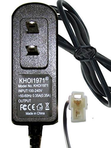 KHOI1971 Wall Charger AC Adapter for Black White W488AC W488AC-PW W488AV-B-F ROLLPLAY Mercedes Benz GL Ride on 6V Battery