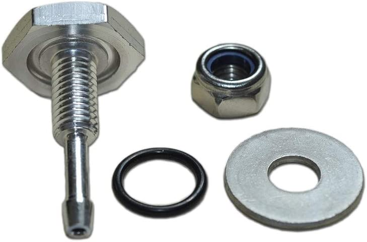 Turbocharger Silicone Pipe Boost Hose Nipple Turbo Vacuum VAC Gauge Fitting TDI - TDI-001