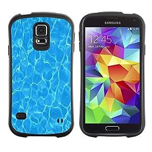 LASTONE PHONE CASE / Suave Silicona Caso Carcasa de Caucho Funda para Samsung Galaxy S5 SM-G900 / Water Surf Sun Summer Sea Reflective