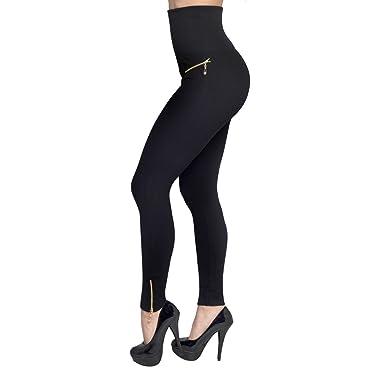 b3ca0a20ff39d JML Hollywood Pants: Slimming, Glamorous Leggings That Shape Your Waist-  Small Black