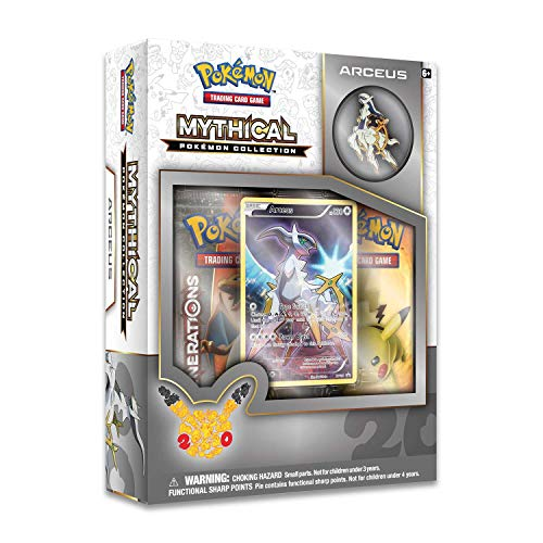 Pokemon TCG: Mythical Arceus Pin Collection -