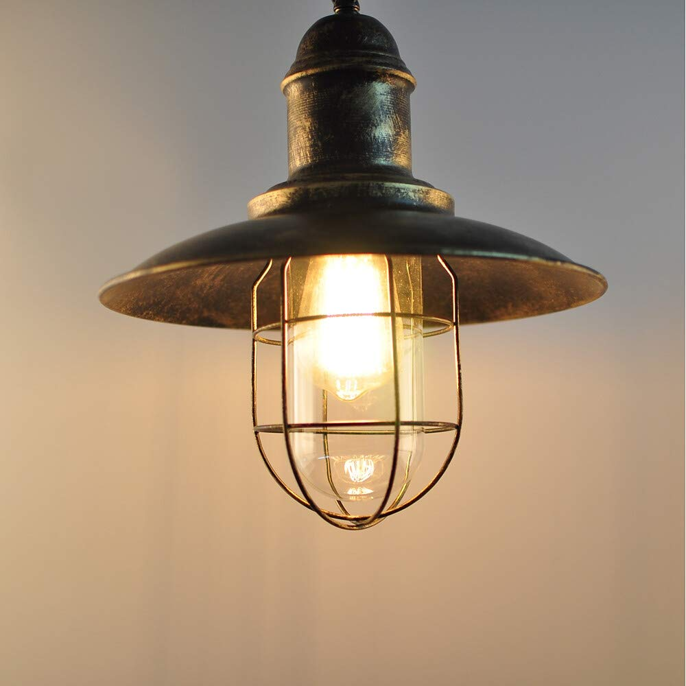 Cone Pendelleuchte Downlight lackiert Metall 110-220V