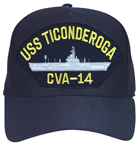 MilitaryBest USS Ticonderoga CVA-14 Ships Ball Cap